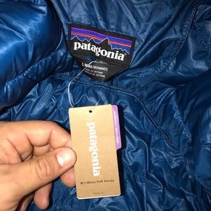 Patagonia Jackets & Coats - NWT Men's Patagonia Micro puff hoody jacket